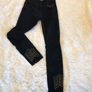 BDG High Rise Studded Ankle Jeans 27